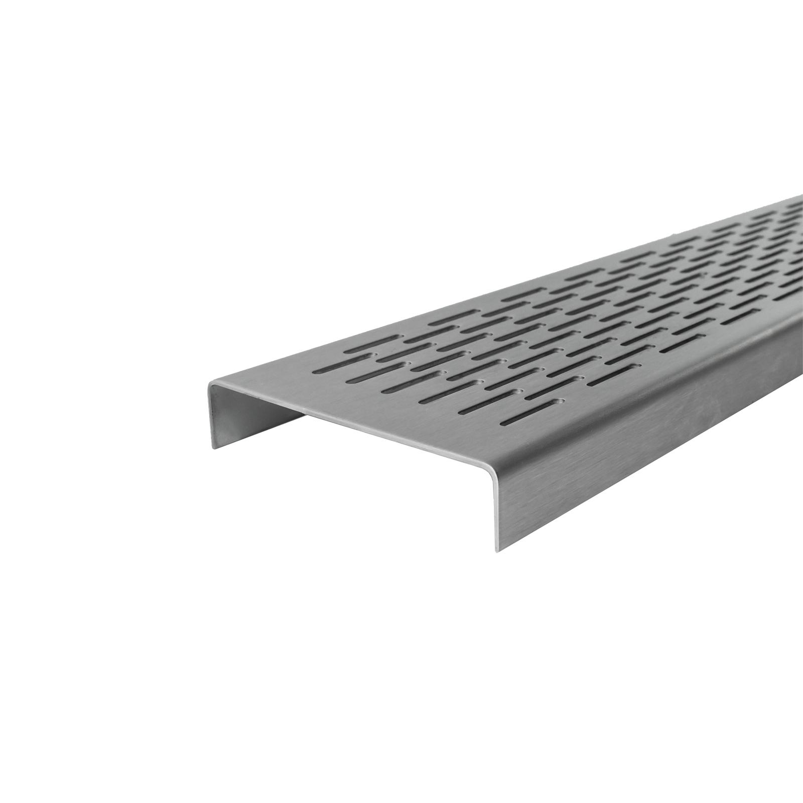 Grates 2 Go 1500mm Brick Pattern Shower Modular - Grate Only