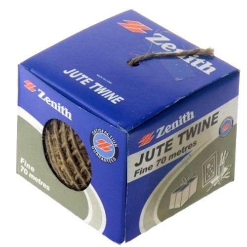 Zenith Jute Shop Twine 880TX 70m RJT0060 Brown