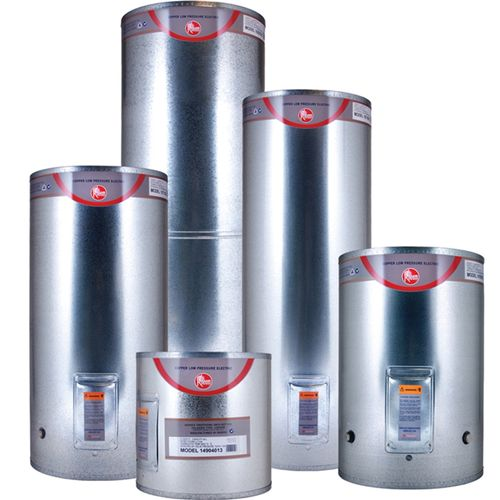 Rheem Low Pressure Electric Water Heater 135L Copper