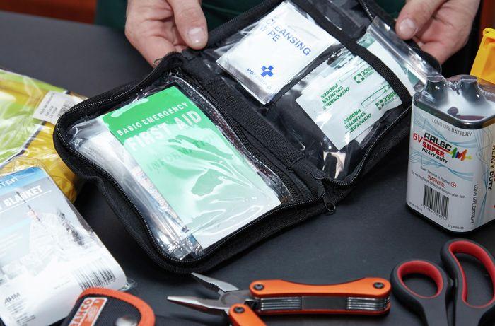 DIY Step Image - How to prepare an earthquake kit . Blob storage upload.