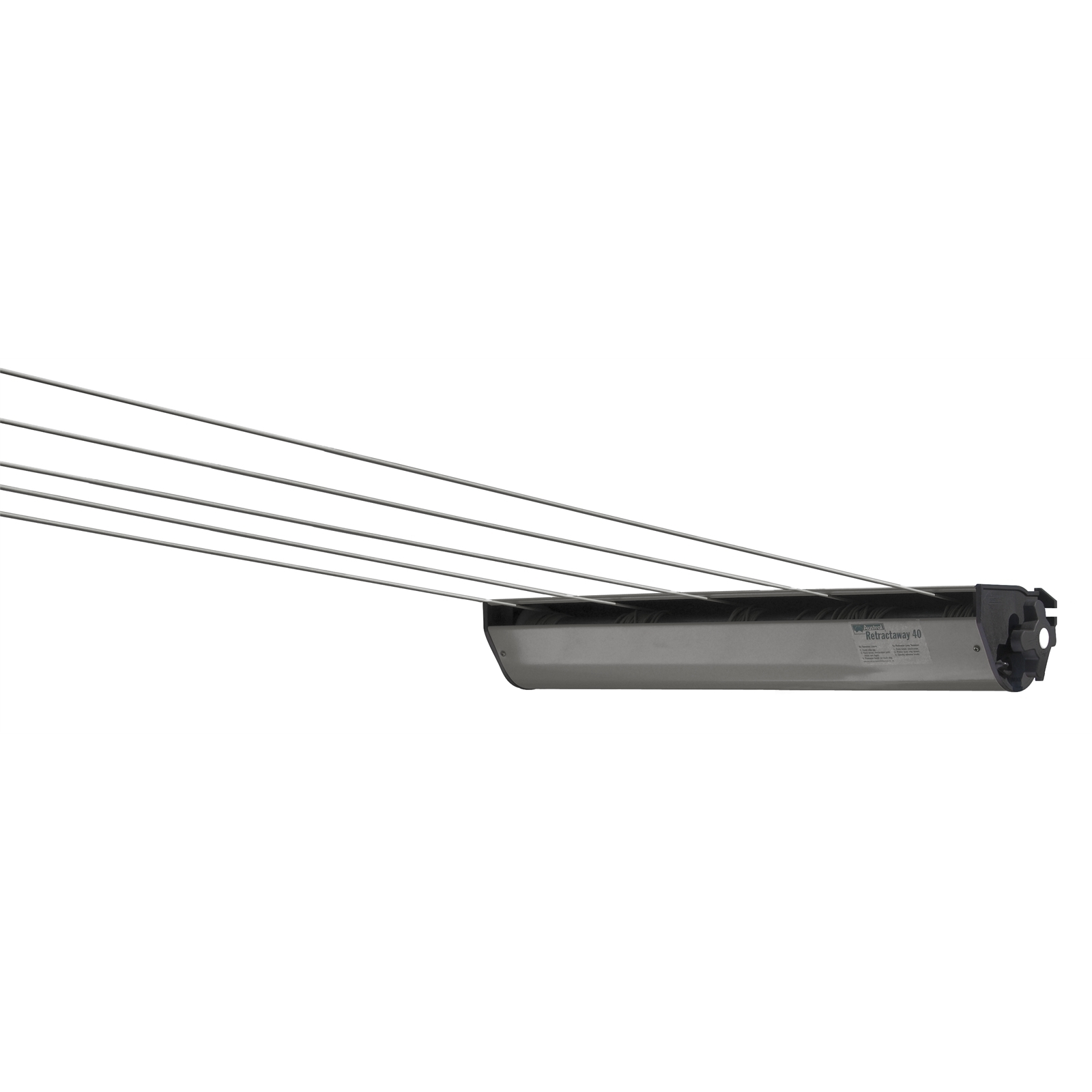 Austral RetractAway 50 Cabinet Clothesline - Colour to match Colorbond Woodland Grey