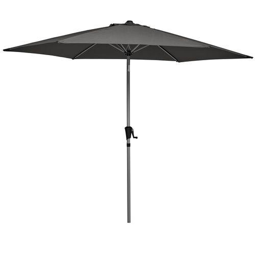 Marquee 3m Round Jasper Market Umbrella - Charcoal