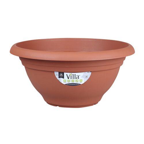 Northcote Pottery 400mm Terracotta Villa Plastic Bowl