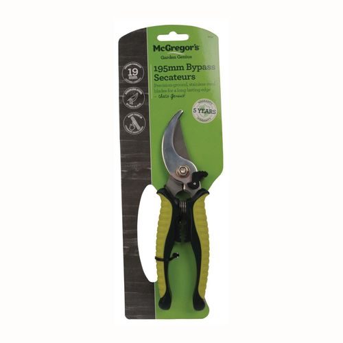 McGregor's Bypass Secateur with Stainless Steel Blade