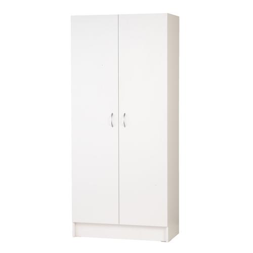 Montgomery 1805 x 800 x 400mm White 2 Door Pantry