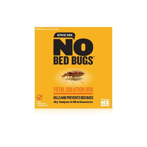 Kiwicare NO Bed Bugs Total Solution Box