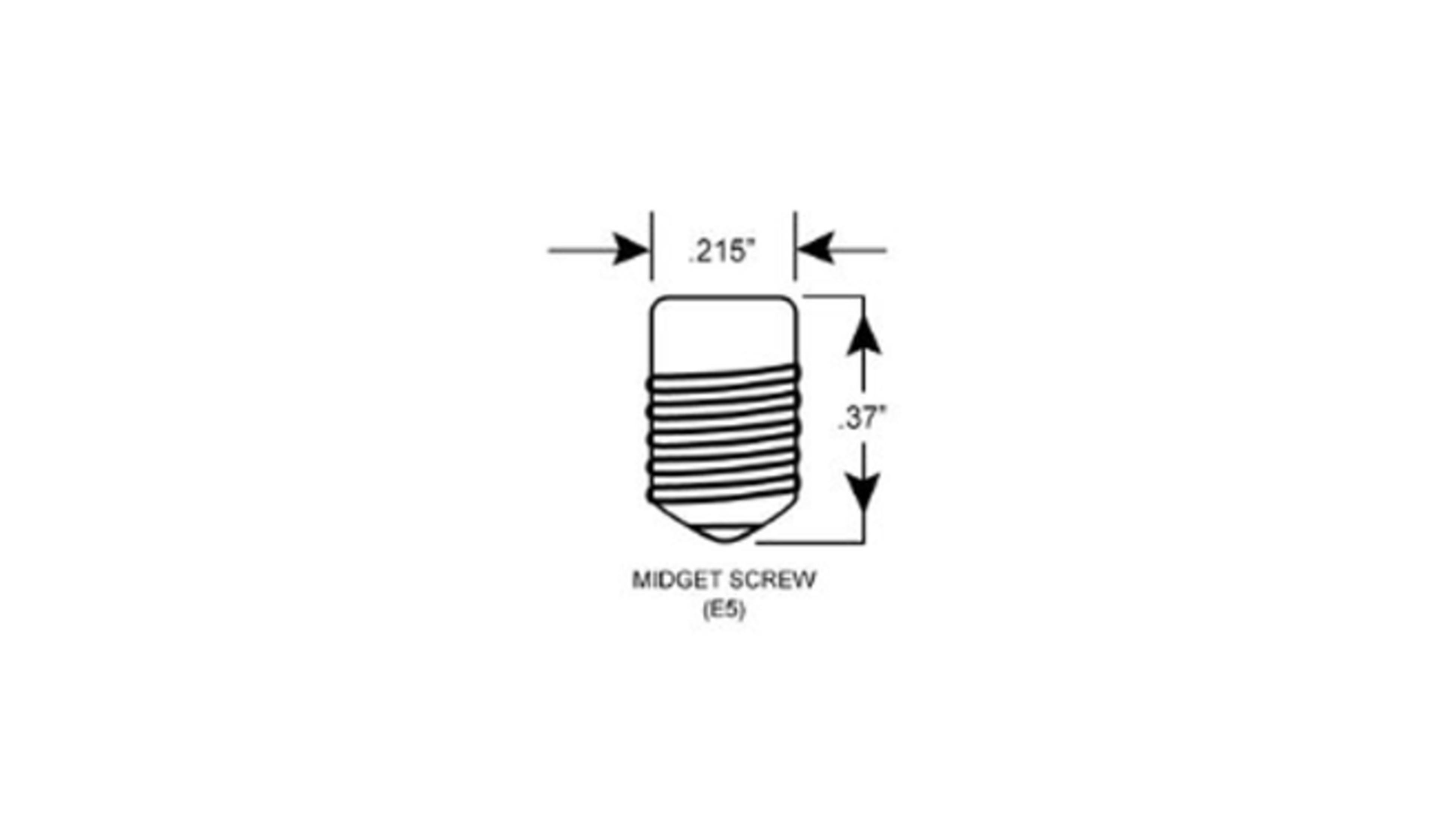 A diagram of a Lilliput Edison screw globe.
