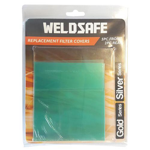 Weldsafe Gold And Silver Series Welding Helmet Lens Cover