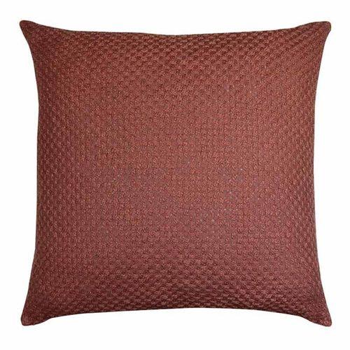 Marlo Rosewood Textured Woven Cushion