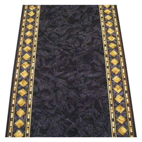 Ideal DIY 67cm Cheops Printed Slate Carpet Runner - Linear Metre