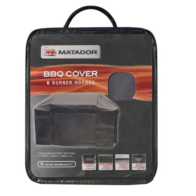 Matador Xrepel BBQ Cover - 6 Burner