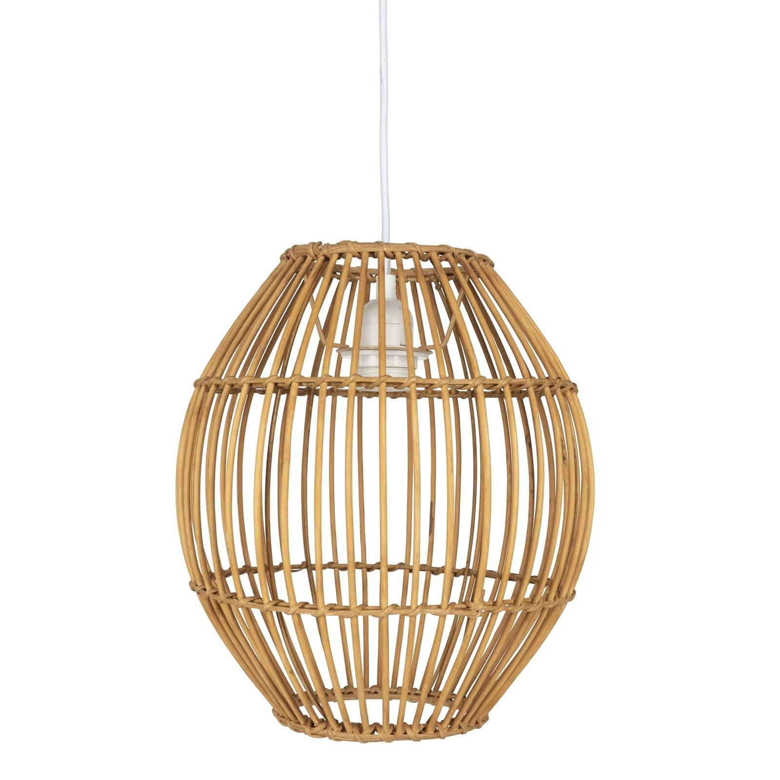 Brilliant Yorkes Bamboo Natural DIY Pendant Light