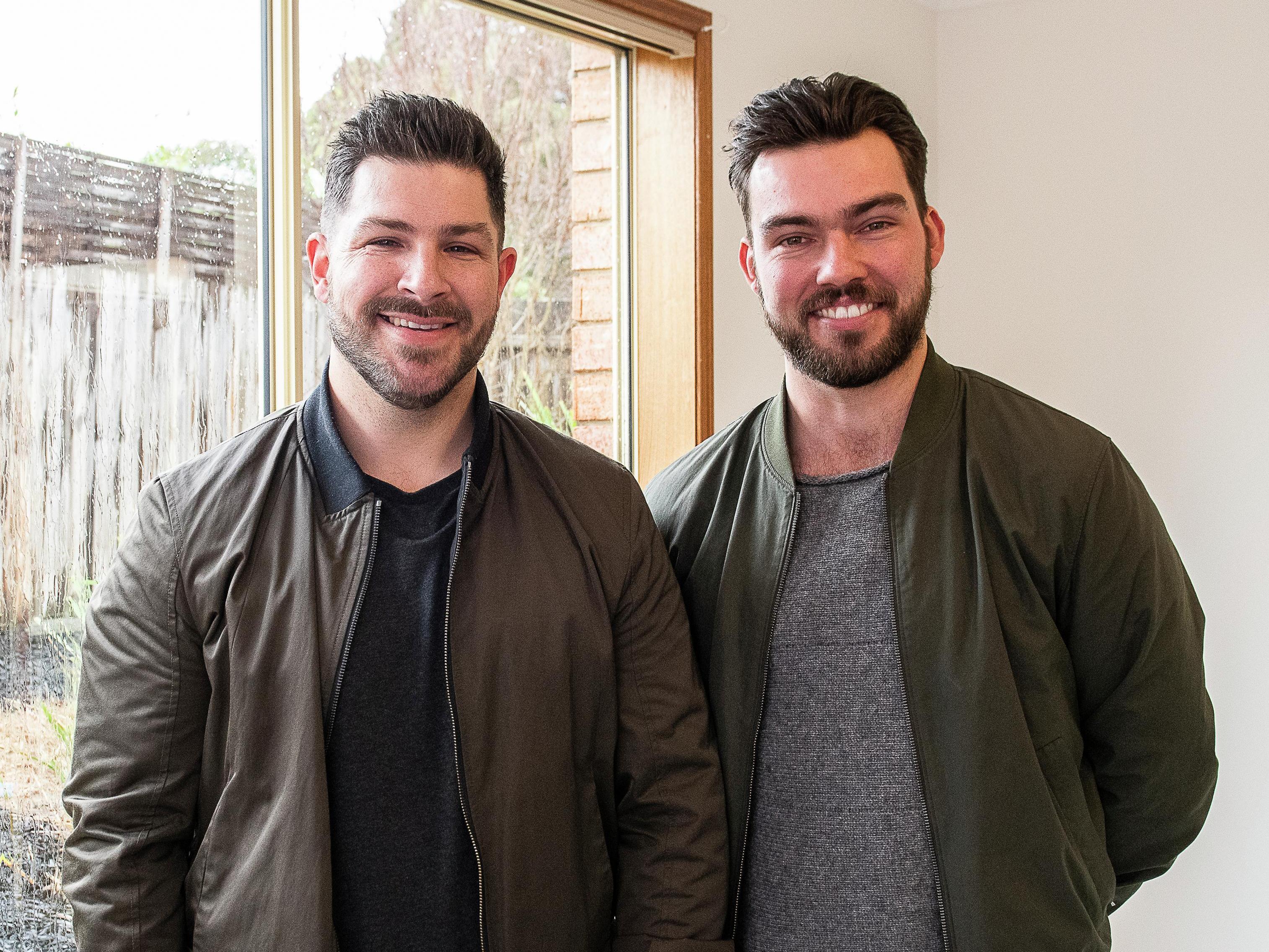 Tim and Mat - Portrait - Make It Yours - Medium
