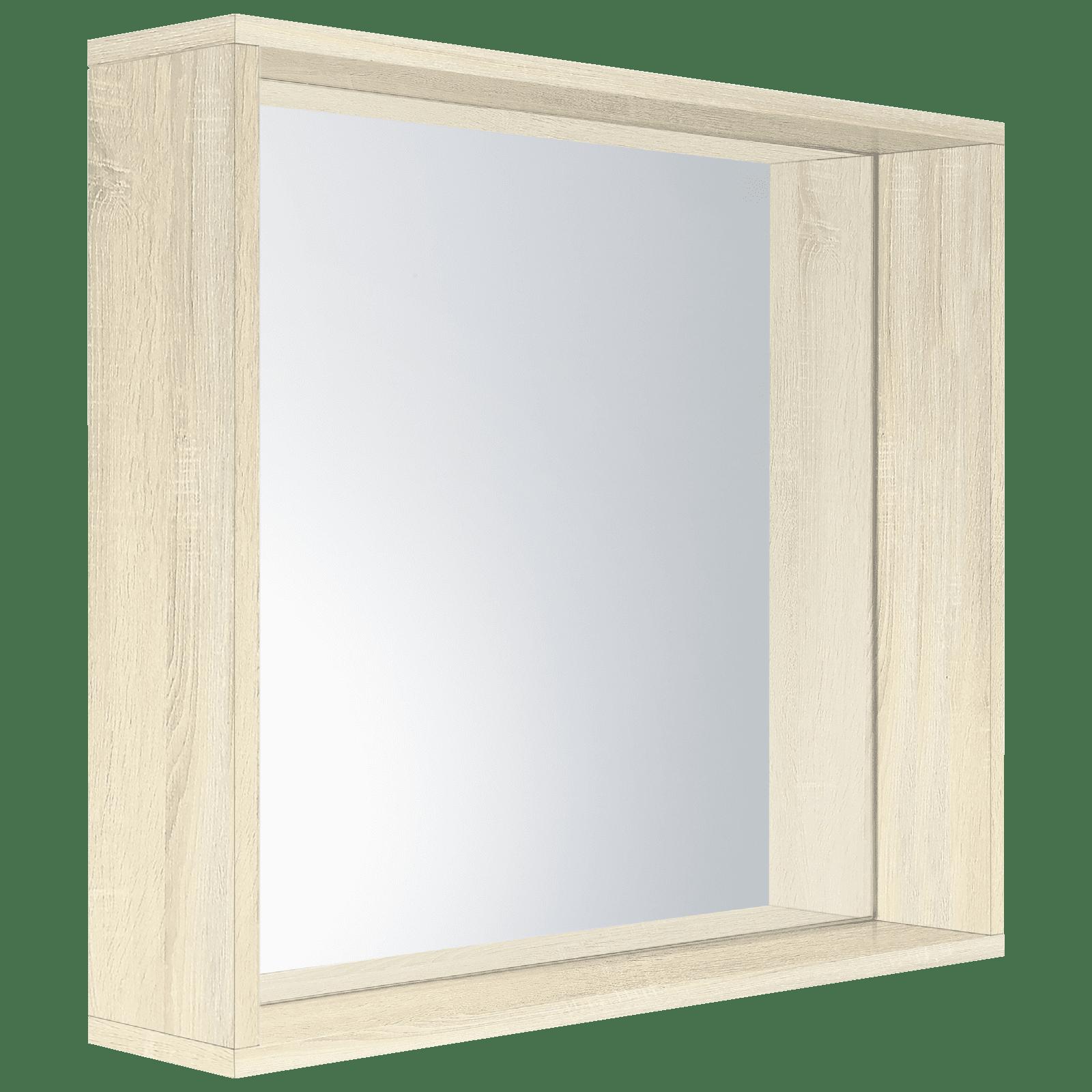 Cibo Design 600 x 600mm Coast Veneer Fresh Frame Mirror