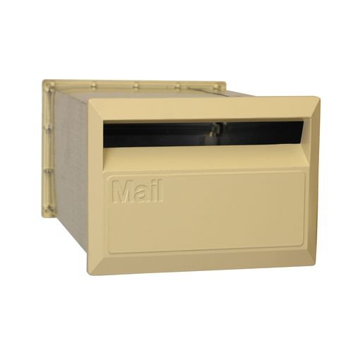 Velox 350mm Back Open Letterbox with Sleeve