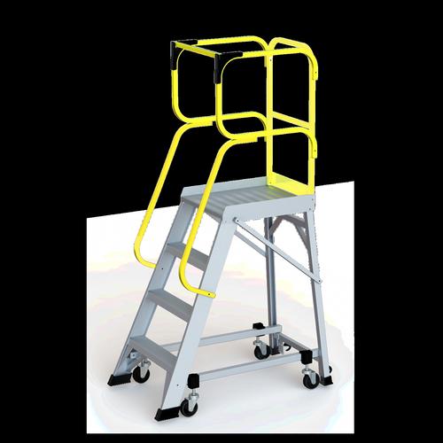 Bailey 1.1m 150kg Industrial Aluminium Order Picking Platform 4