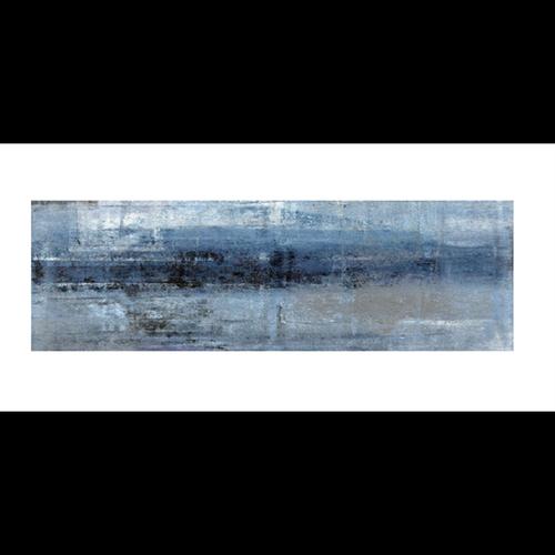 Bellessi 445 x 1200 x 4mm Motiv Polymer Bathroom Panel - Blue Storm