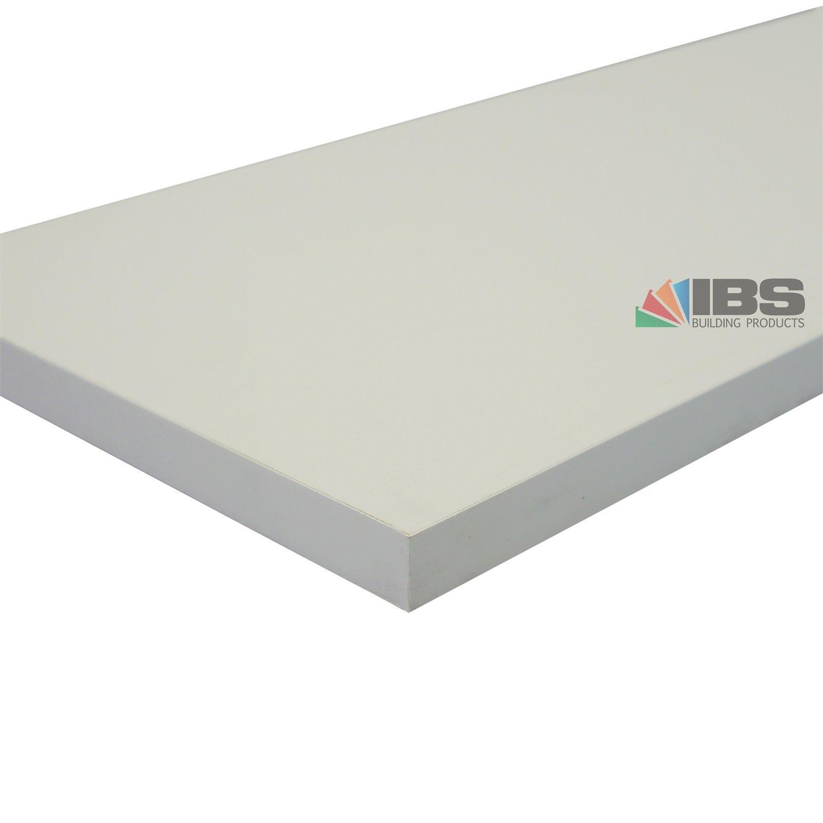 IBS Mini Panel 1800 x 200 x 16mm White Melamine