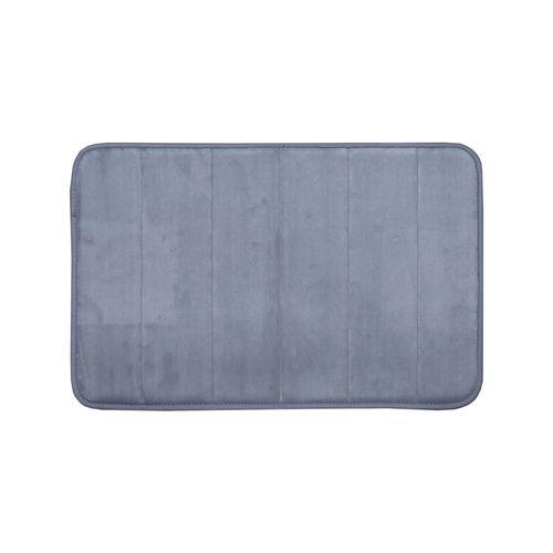 Softouch 60 x 40cm Grey Monarch Memory Foam Bathmat