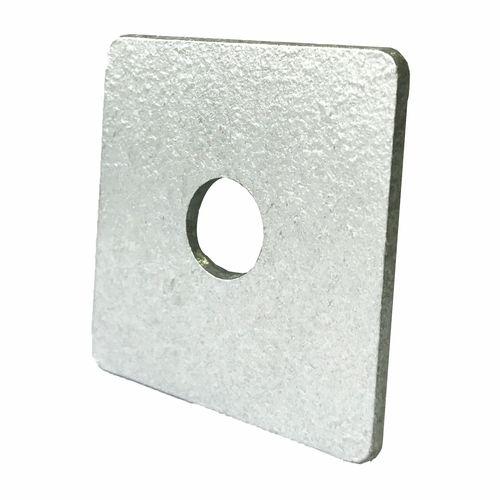 Macsim 50 x 50 x 3mm M12 Galvanised Square Washer