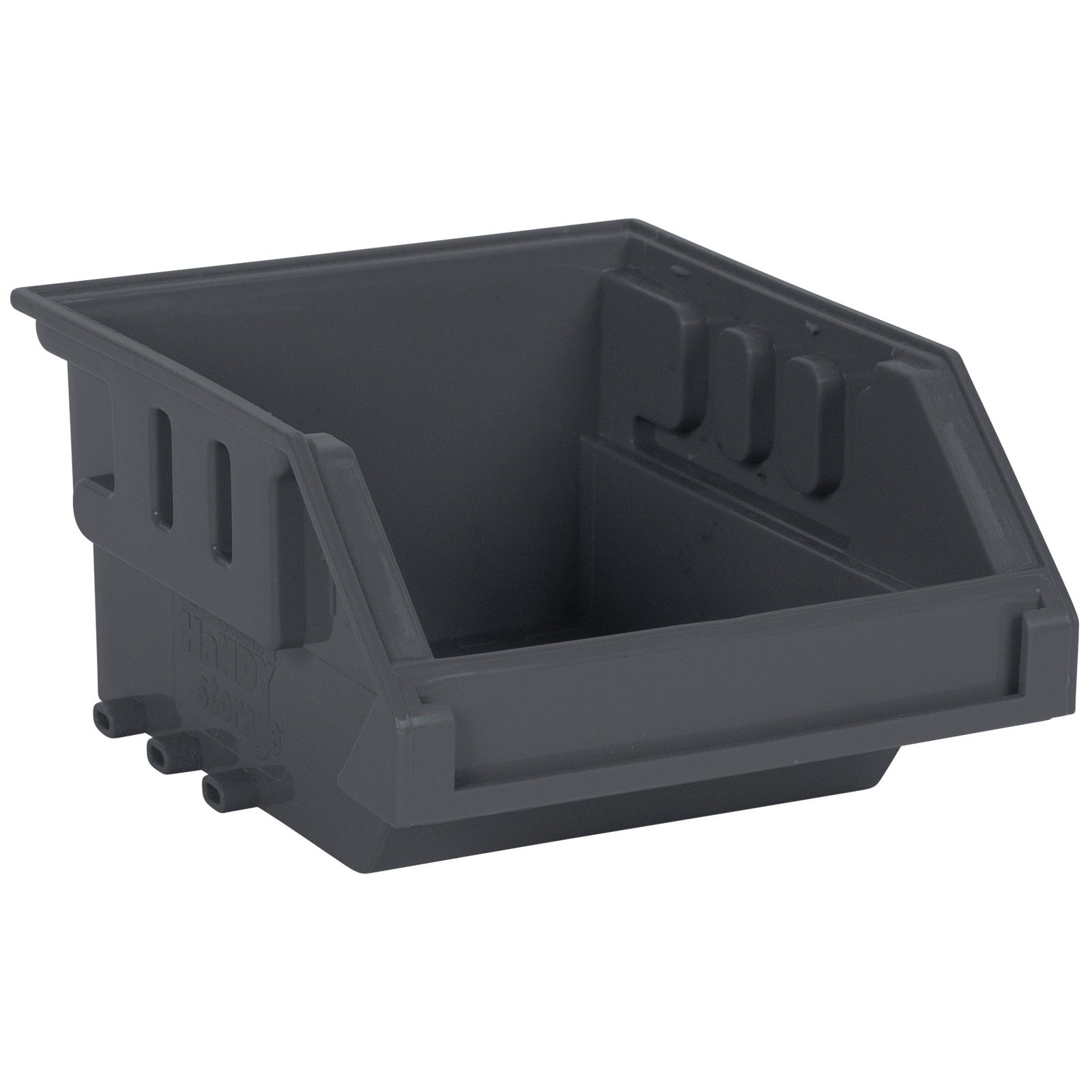 Handy Storage Size 10 Grey Plastic Storage Tote