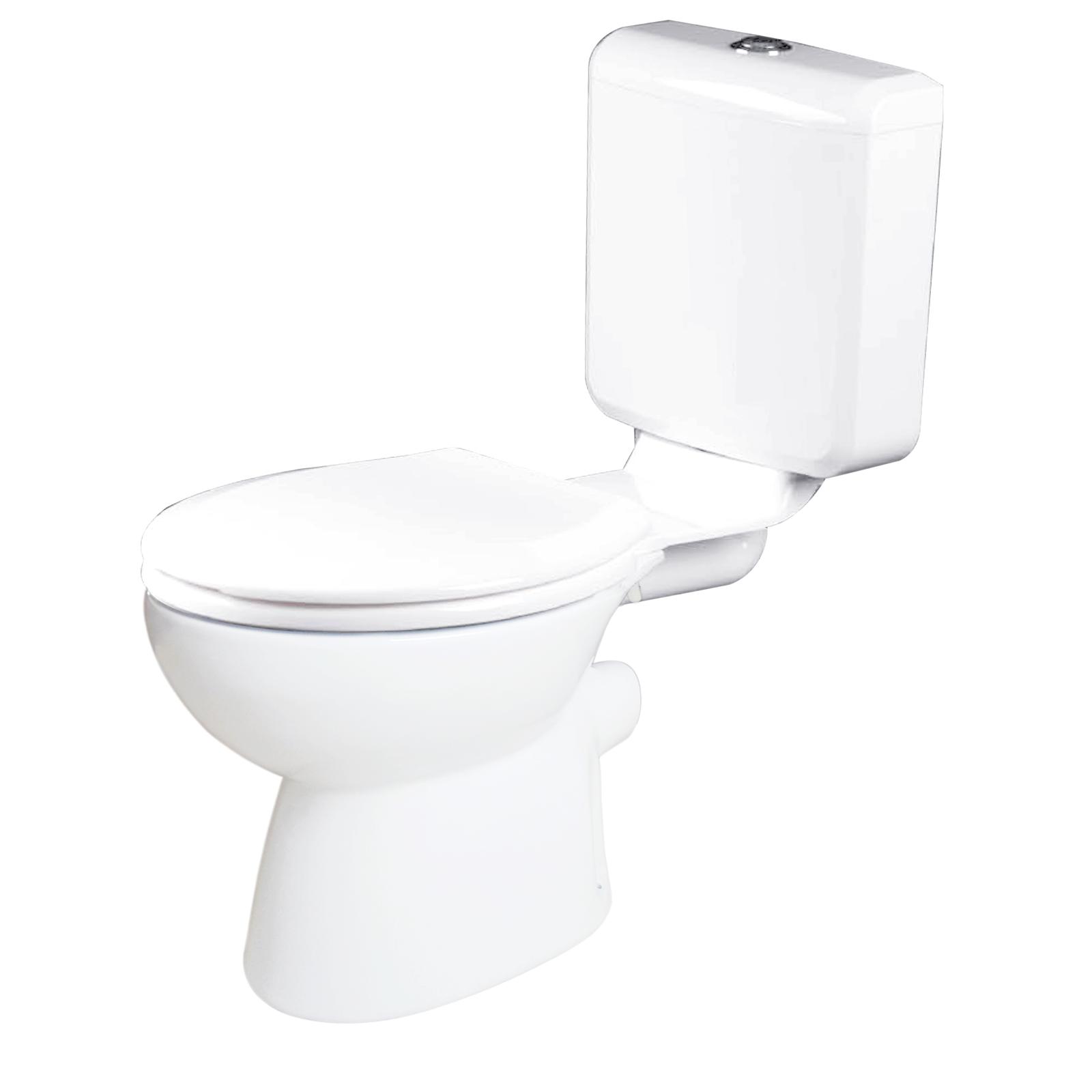 Estilo WELS 3 Star 3-6L/min PVC Link P Trap Toilet Suite
