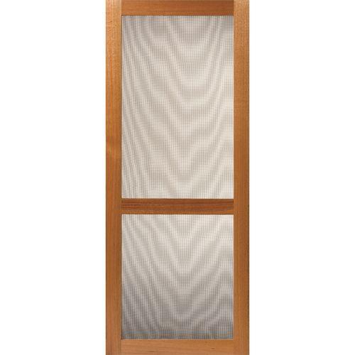 Corinthian Doors 2060 x 820 x 19mm Fresco 2 Lite Timber Screen Door