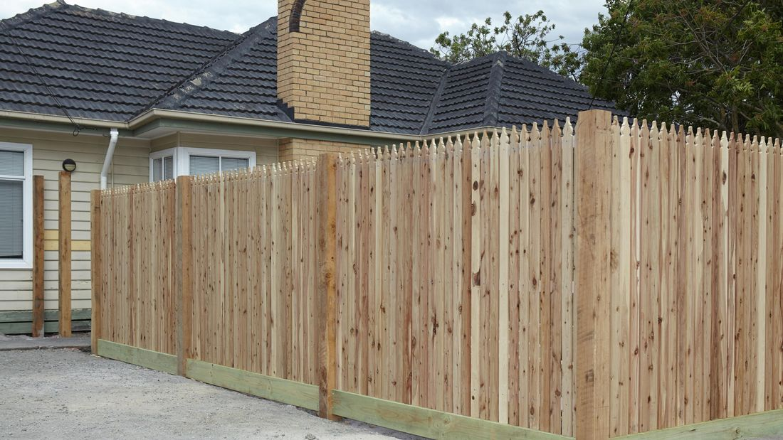 DIY Step Image - How to build a picket fence overview . Blob storage upload.