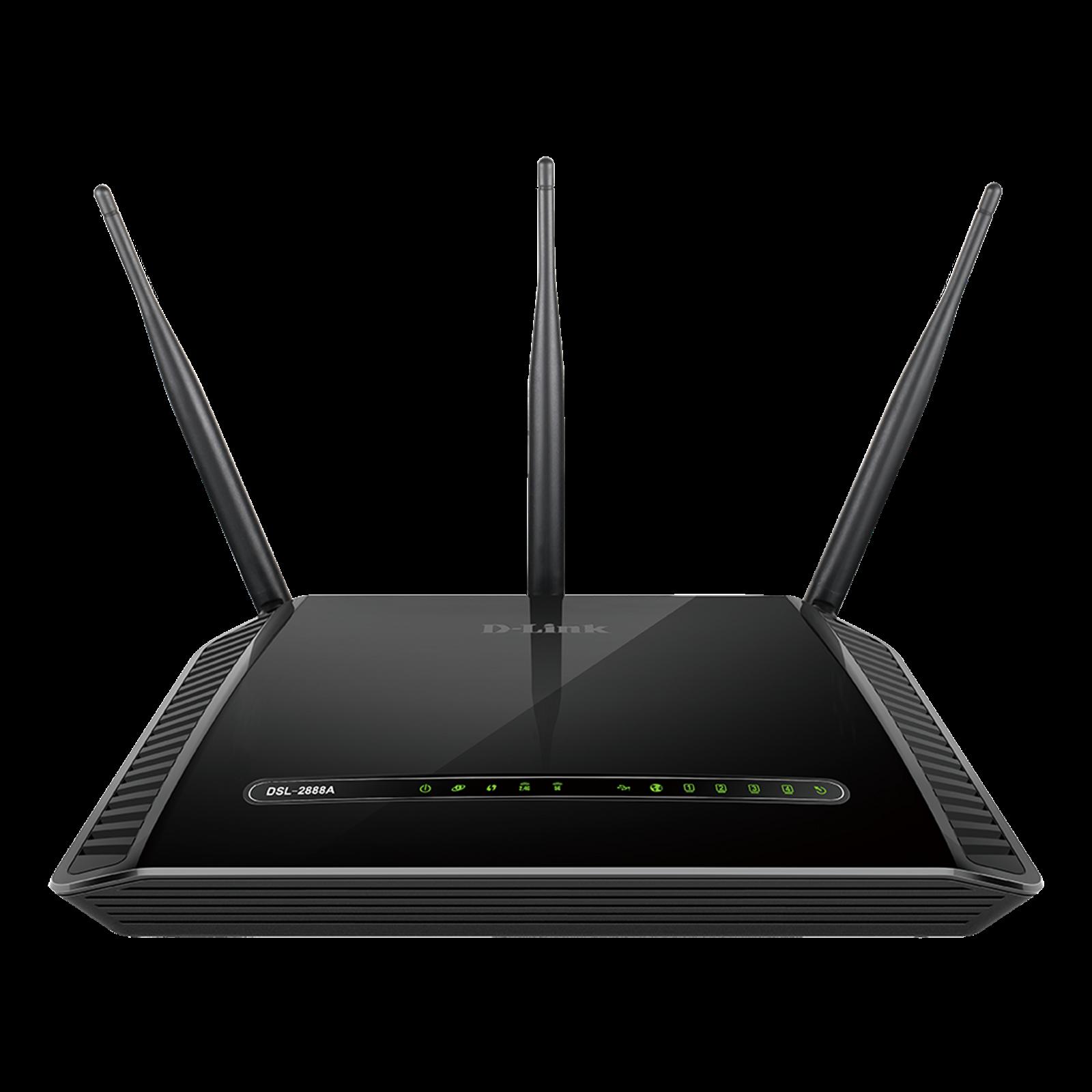 D-LINK PYTHON Dual Band Wireless AC1600 Gigabit ADSL2+/VDSL2 DSL-2888A Modem Router