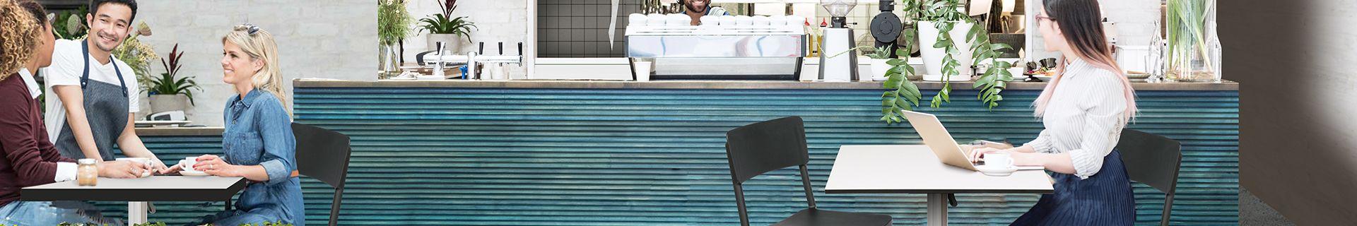 Cafe front using Tusk Living furniture