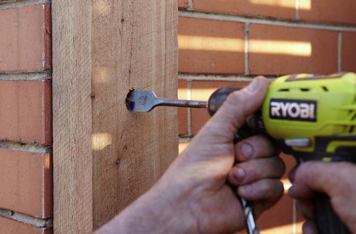 DIY Step Image - How to build a picket gate . Blob storage upload.
