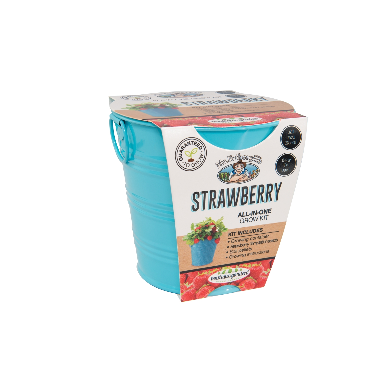 Mr Fothergill's Boutique Gardens Strawberry Grow Kit