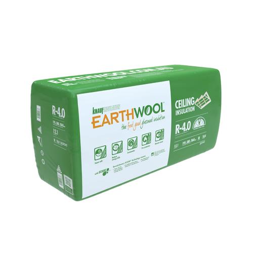 Earthwool R4.0 195mm x 580mm x 1160mm 12.11m² Insulation Ceiling Batt - Pack of 18