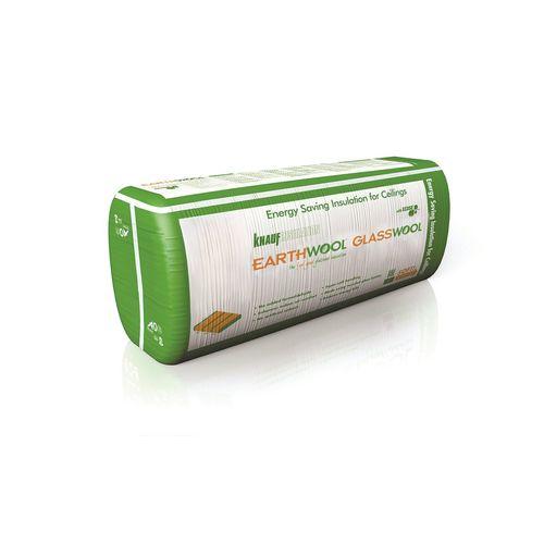 Earthwool glasswool R3.3 155mm x 430mm x 1160mm 10.47m² Ceiling Insulation Batt - Pack of 21