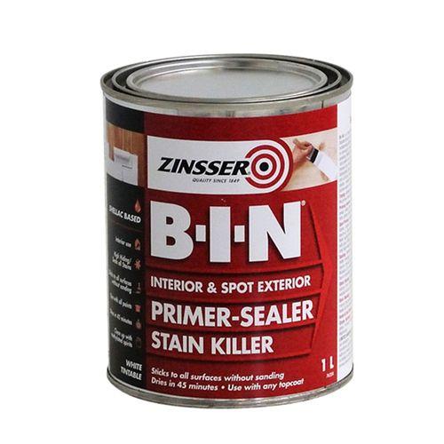 Zinsser 1L B-I-N Primer Sealer Stain Killer