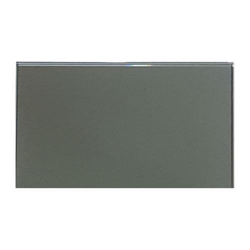 Trendy Mirrors 145 x 94mm Grey Mirror Glass Splashback Sample