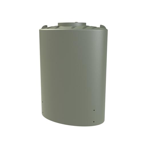 Melro 2000L Slimline Polyethylene Water Tank - Mist Green