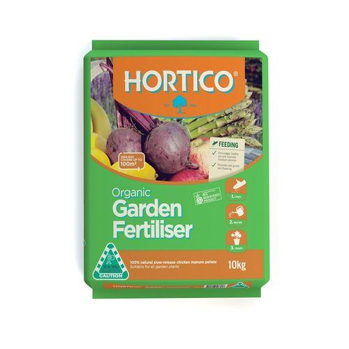 Hortico 10kg Organic Garden Fertiliser