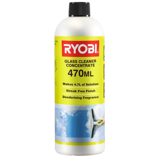 Ryobi 470ml Glass Cleaner Concentrate