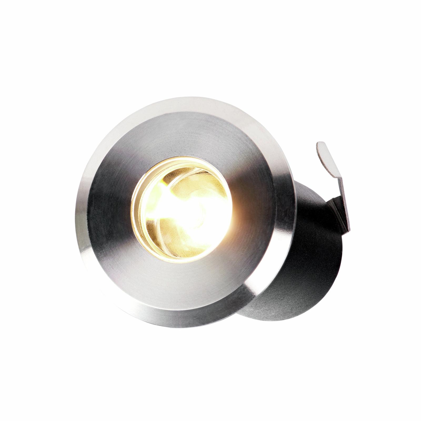 Elluminate Warm White Stainless Steel Deck Lights - 4 Pack