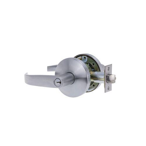 Yale 70mm Key In Lever Deadlatch