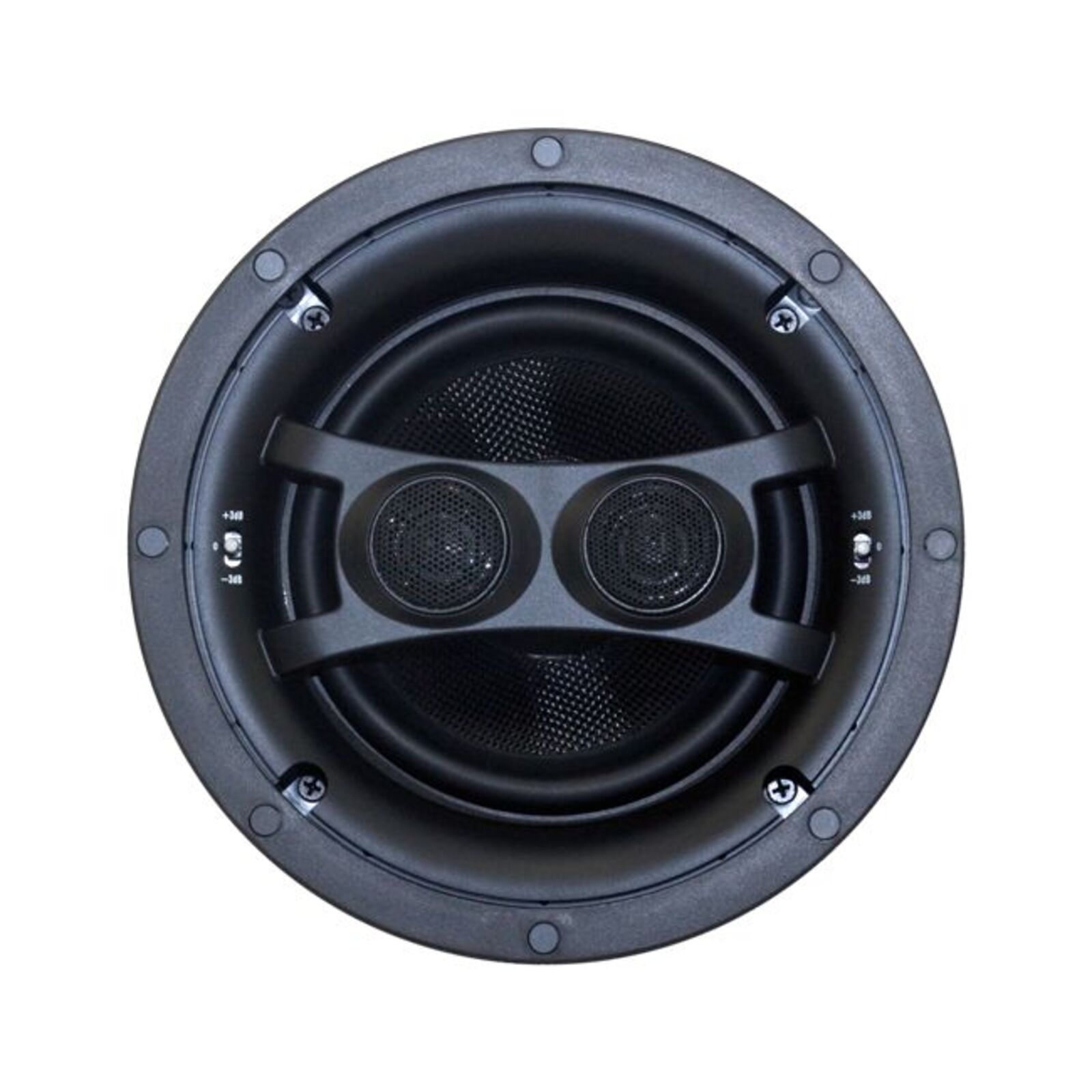 """Earthquake 6.5"""" Ceiling Stereo Speaker Dual Voice Coil Woofers With Kevlar Cone Bodies 6.5"""" Ceiling Stereo Speaker Dipole/Bipole"""