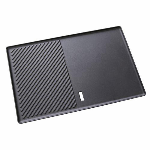 Gasmate Satin Enamel Hot Plate - 320 x 480mm Black