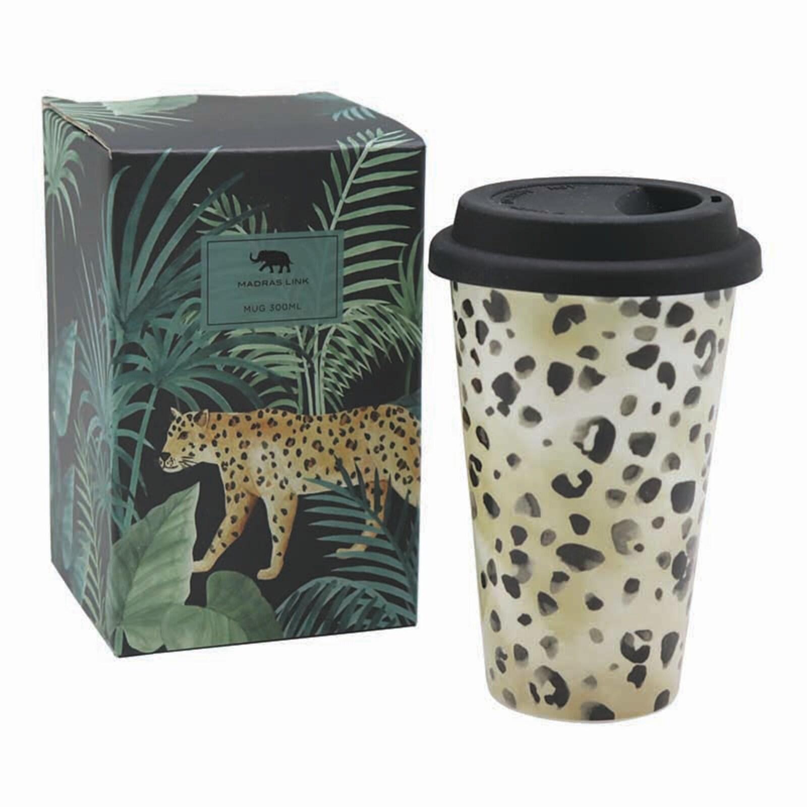 Leopard 300ml Travel Mug