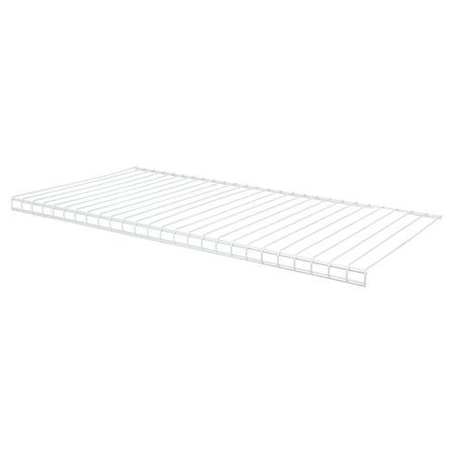 Flexi Storage 666.75 x 350mm White Back B Wire Shelf