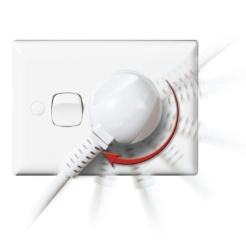 Arlec 5m Swivel Plug Extension Lead