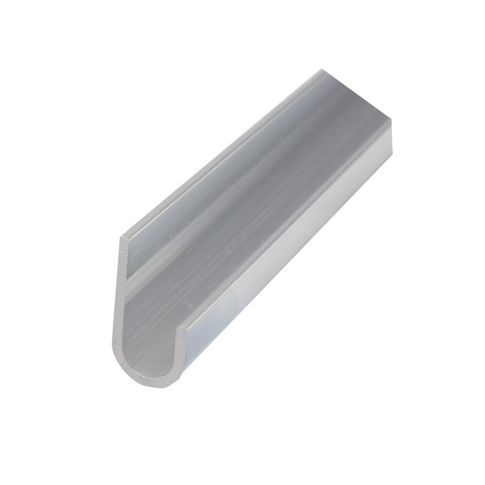 Metal Mate 23.8 x 12 x 1.5mm 1m Aluminium Gutter