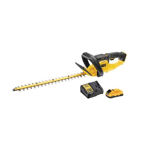 DeWALT 18V XR 3.0Ah Hedge Trimmer Cordless Kit