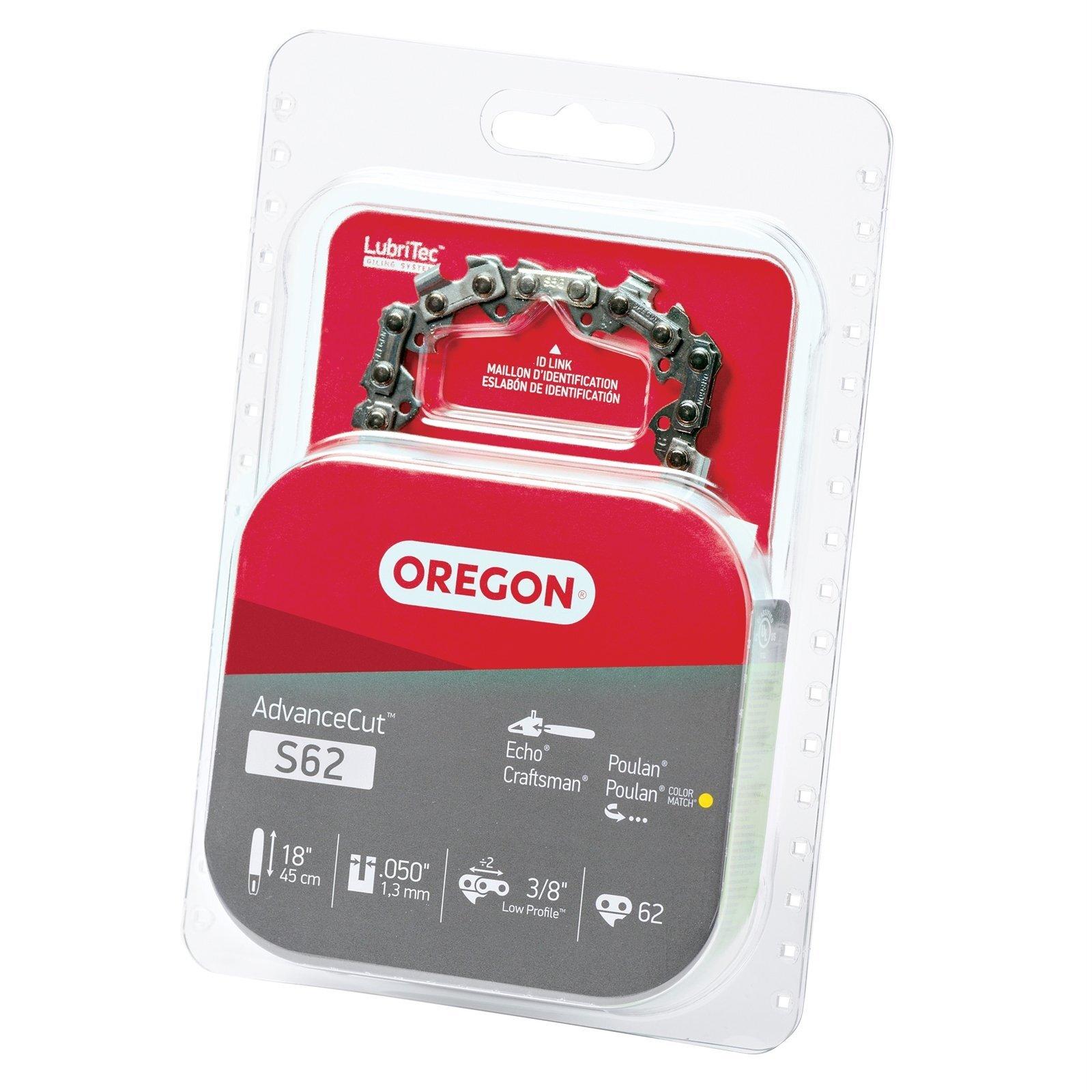 Oregon 18in 3/8lp 050 62dl S62 Chainsaw Chain