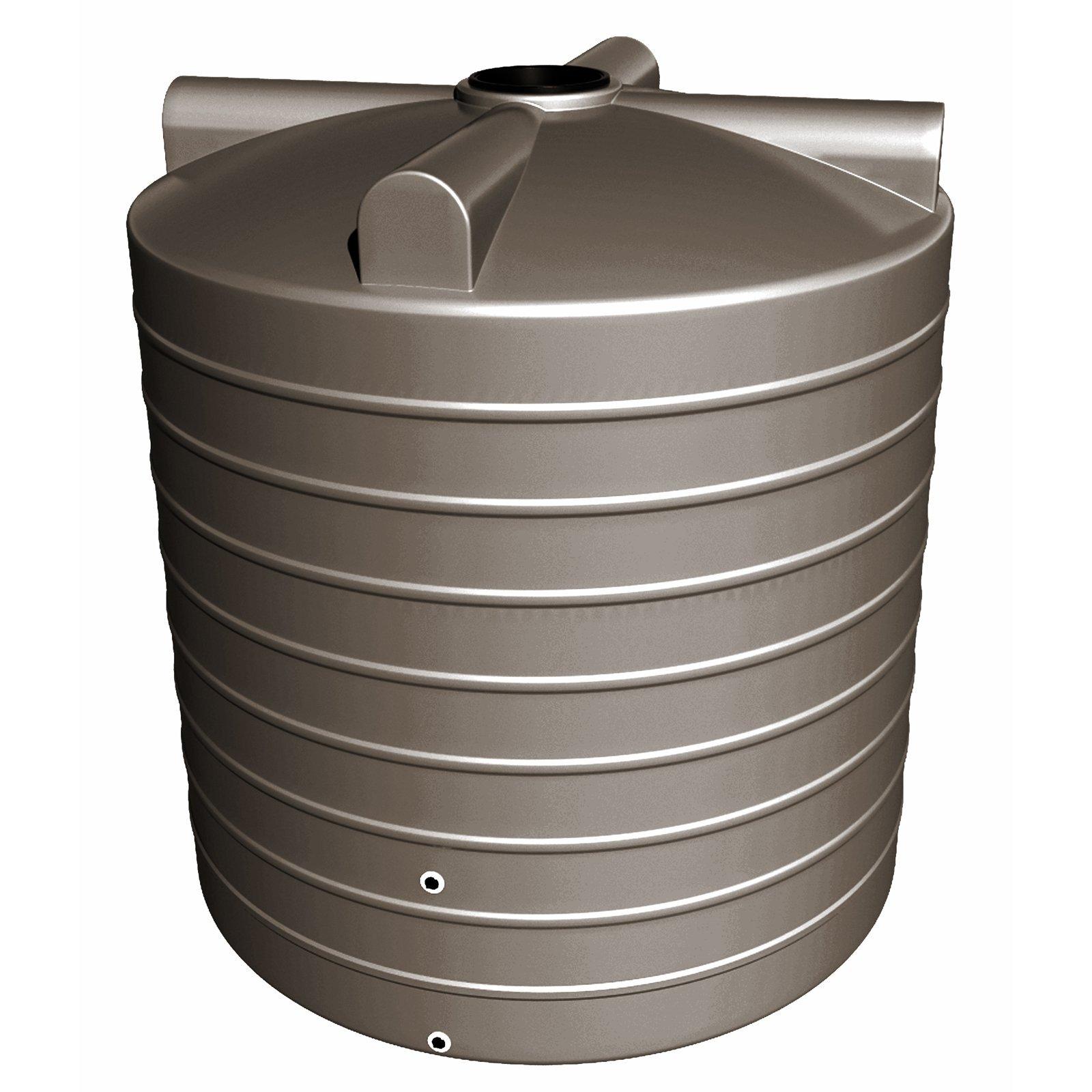 NextGenRoto 10400L Polyethylene Round Water Tank - Clay Brown